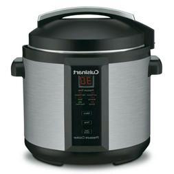 Cuisinart 6 Qt Programmable 1000 Watt Electric Stainless Pre