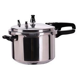 6 quart aluminum pressure cooker