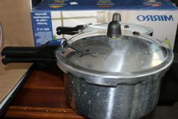 MIRRO 6 Quart Aluminum Pressure Cooker Canner USA