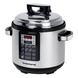 8-in-1 6 qt Programmable Electric Pressure Cooker Multi-func