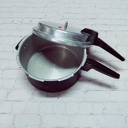 6 Quart MIRRO-MATIC Aluminum Pressure Cooker Canner Made in