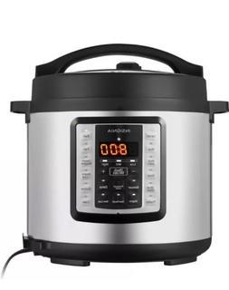 Insignia - 6-Quart Multi-Function Pressure Cooker  Stainless