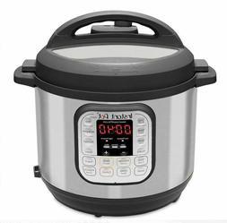 Instant Pot 6 Quart Pressure Cooker Slow Cook Rice Steamer W