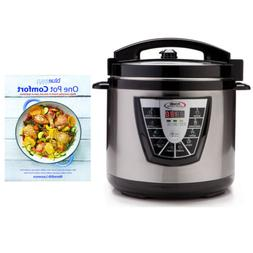 "Power Pressure Cooker XL  with""One Pot Cooking"" Cookbook"