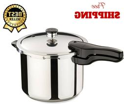 6 quart stainless steel pressure cooker compatible