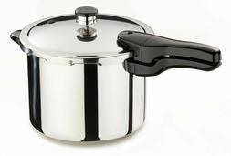 6-Quart Stainless Steel Pressure Cooker