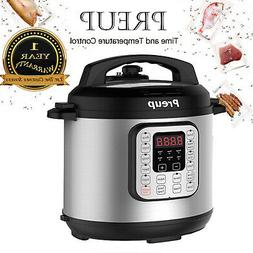 6L Non-Stick Multi Function Electric Pressure Cooker Stainle