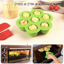 7 Grids Silicone Egg Bites Cake Molds For Instant Pot Access