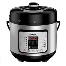 COSORI 7-in-1 6 Qt Electric Pressure Cooker, Slow Rice Yogur