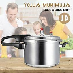 "8"" Aluminum Pressure Cooker Family Kitchen Tool Fast Cooker"
