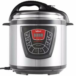 VonShef 8-in-1 Electric Pressure Slow Cooker Multi-Functiona