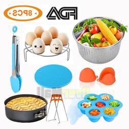 8 Pcs Instant Pot Accessories Kit Pressure Cooker Accessorie