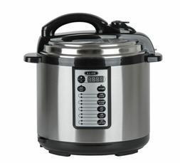 Bella 8-Qt. Electric Digital Pressure Cooker Stainless Steel