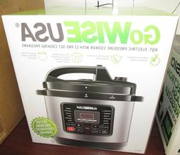 GoWise USA 8 Qt Electric Pressure Cooker GW22704
