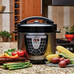 Power Pressure Cooker XL 8 Quart, Digital Non Stick Stainles