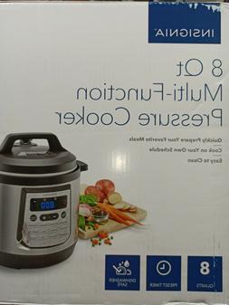 Insignia 8-Quart Multi Function Pressure Cooker NS-MC80SS9.