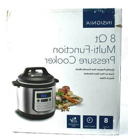 Insignia 8-Quart Multi-Function Pressure Cooker Stainless St