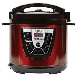 8-Quart Power Pressure Cooker Plus w Flavor Infusion