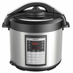 8 Quart Programmable Pressure Cooker Slow Cooker Rice Cooker