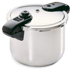 Presto 8-Quart Stainless Steel Pressure Cooker 01370
