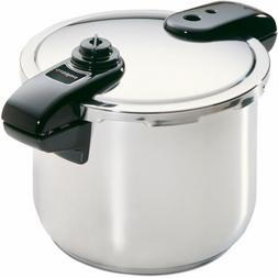 Presto 8-Quart Stainless Steel Pressure Cooker NEW DAMAGED B