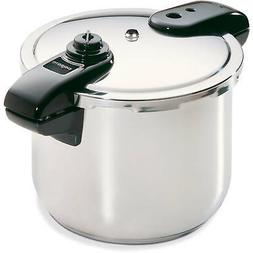Stainless Steel Pressure Cooker, 8-Quart