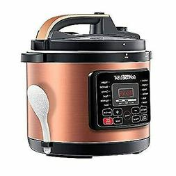 8-Quarts 12-in-1 Electric Pressure Cooker + 50 Recipes for y
