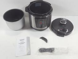 Homeleader 9-in-1 Multi-Use Programmable 6 qt. Pressure Cook