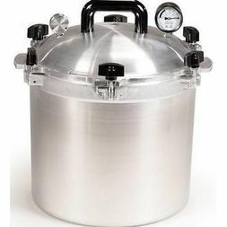 All American 921 21.5 Qt Heavy Cast Aluminum Pressure Cooker
