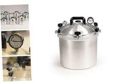 921 Canner Pressure Cooker, 21.5 qt, Silver