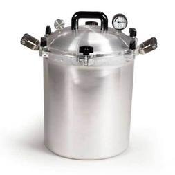 All American 941 41.5 Qt Heavy Cast Aluminum Pressure Cooker