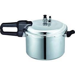Brentwood 0 Bpc-112 9.0 L Pressure Cooker in Aluminum.