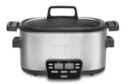 Cuisinart 3-In-1 Multi-Cooker, Slow Cooker, Steamer and Brow