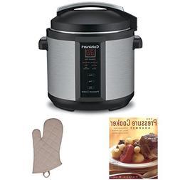 Cuisinart CPC-600 1000W 6qt. Pressure Cooker Refurbished + T
