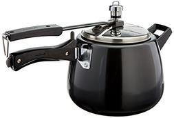 Hawkins CB40 Hard Anodised Pressure Cooker, 4-Liter, Contura