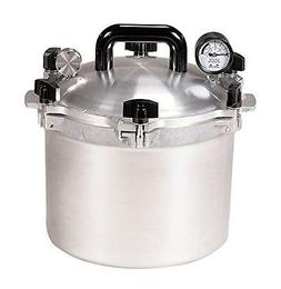 New All American 915 Usa Made 15.5 Quart Pressure Cooker Can