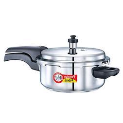 Prestige PRSDA-3L Pressure Cooker, 3 LT, Silver