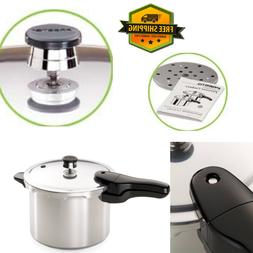 Presto Aluminum Pressure Cooker Chicken Fish Meat Vegetables