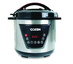 Nesco American Harvest Nesco PC8-25 Pressure Cooker, 8 quart