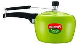 Prestige Apple Aluminum Green Color Pressure Cooker, 5-Liter