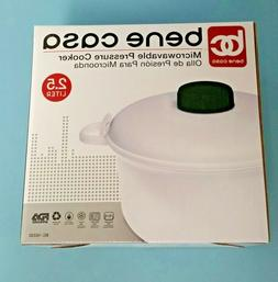 Bene Casa 16330 Easy Microwave Rice and Pressure Cooker
