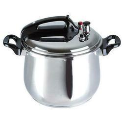 Bene Casa 33868 5.3-quart stainless steel pressure cooker.