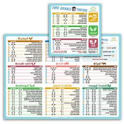 Best Improved Version Instant Cooking Times Cheat Sheet Magn