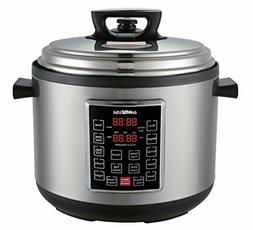 Big Crock Pot 14qt Pressure Cooker Electric Steamer Cooking