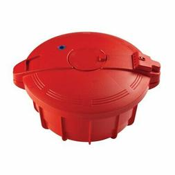 Pemberly Row BPA Free Pressure Cooker in Chili Red