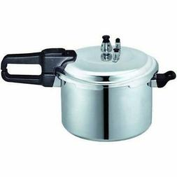 BRENTWOOD BPC-112 9.0 Liter Pressure Cooker in Aluminum Home