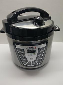 Brand New Power Pressure Cooker XL 6qt One Touch Electric Ca
