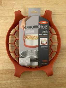 Brand New OXO Softworks Silicone Pressure Cooker Sling. Easi
