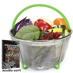 Casa Verde Instant Pot Steamer Basket Accessory, Egg, Vegeta