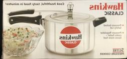 NEW Hawkins 5 Liter Classic Aluminum Pressure Cooker